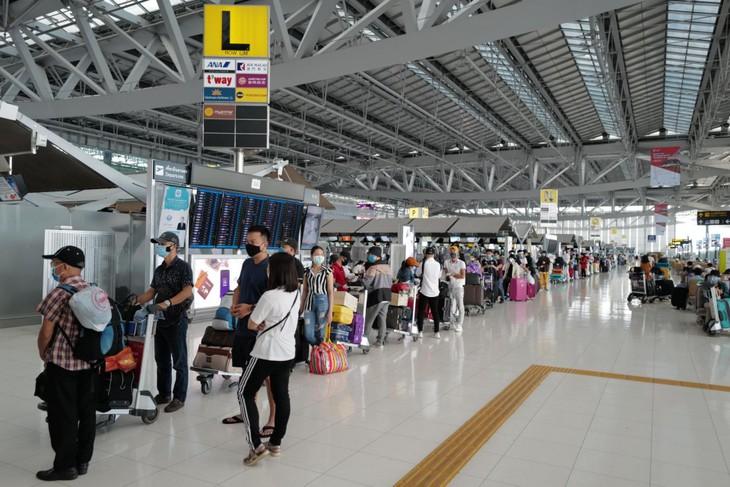 Самолёт из Таиланда доставил на родину около 300 вьетнамских граждан  - ảnh 1