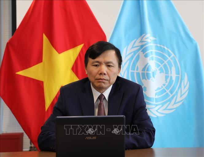 Вьетнам председательствовал на онлайн-заседании представителей 10 стран-непостоянных членов СБ ООН и генсека ООН - ảnh 1