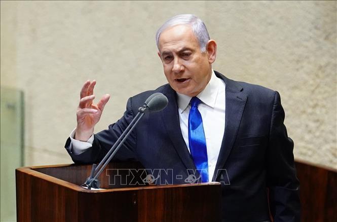 Премьер-министр Израиля Биньямин Нетаньяху предстал перед судом в Иерусалиме - ảnh 1