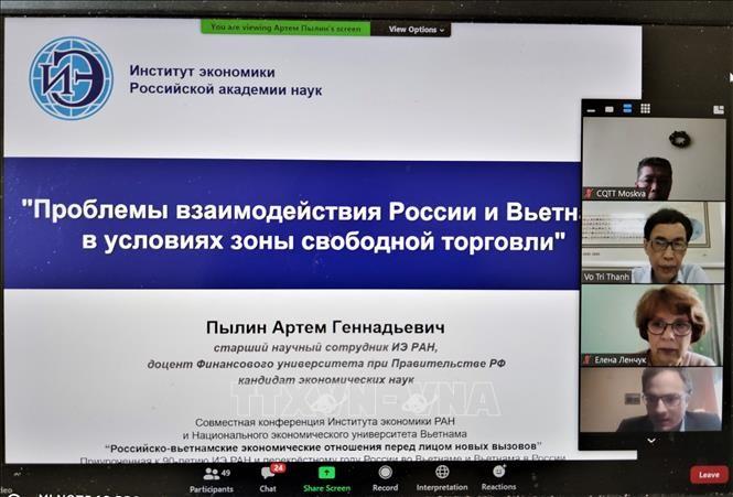 Семинар по экономическому сотрудничеству между Вьетнамом и Россией в условиях новых вызовов  - ảnh 1