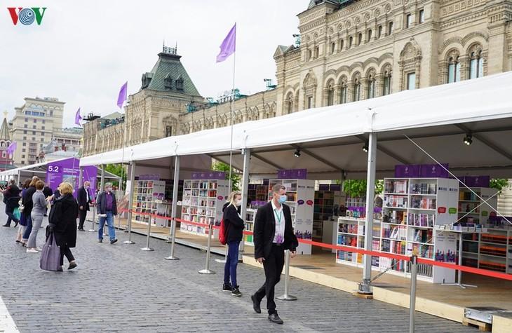 В Москве открылся книжный фестиваль «Красная площадь» - ảnh 1