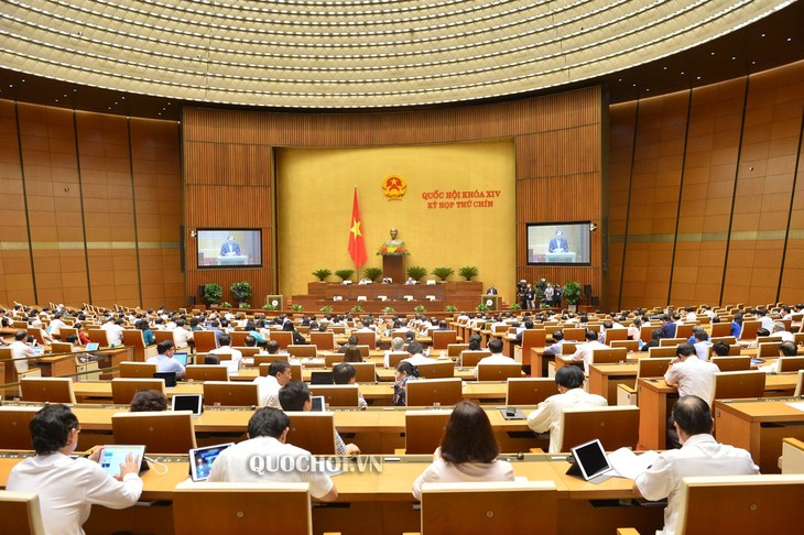 19 июня во второй половине дня завершилась 9-ая сессия Нацсобрания Вьетнама 14-ого созыва - ảnh 1