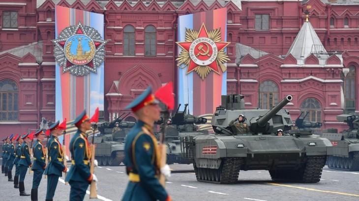 Грандиозный парад в честь 75-летия Великой Победы на Красной Площади - ảnh 1