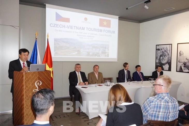Вьетнам и Чехия активизируют сотрудничество в области туризма - ảnh 1