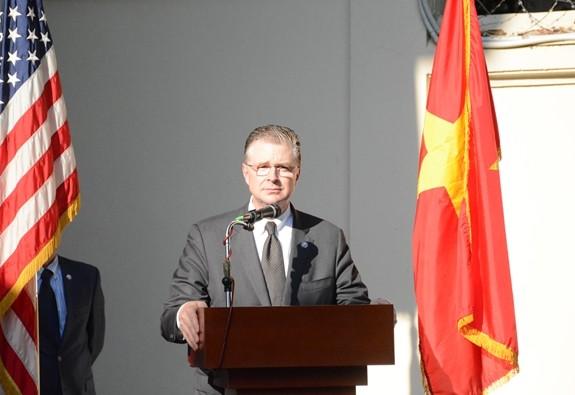 В Ханое состоялась церемония возвращения останков американских военнослужащих на Родину - ảnh 1