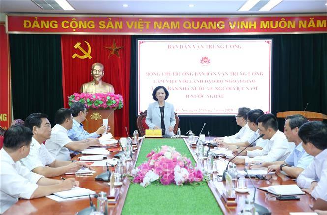 Необходимо активизировать работу с народными массами среди вьетнамцев за границей - ảnh 1