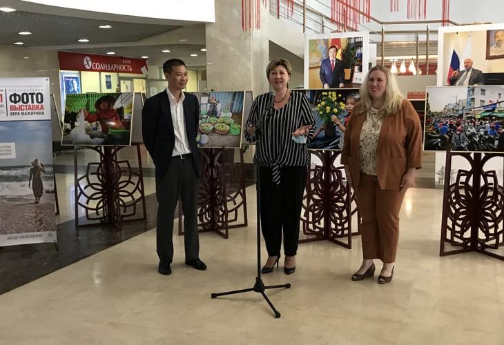 На Ярославском шоссе открылась фотовыставка о Вьетнаме - ảnh 1
