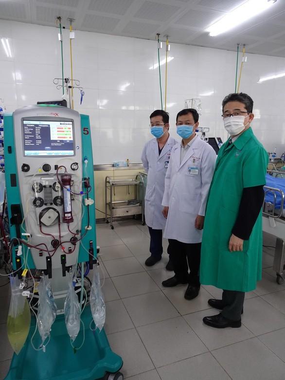 JICA предоставило медоборудование больнице Чорэй для борьбы с коронавирусом - ảnh 1