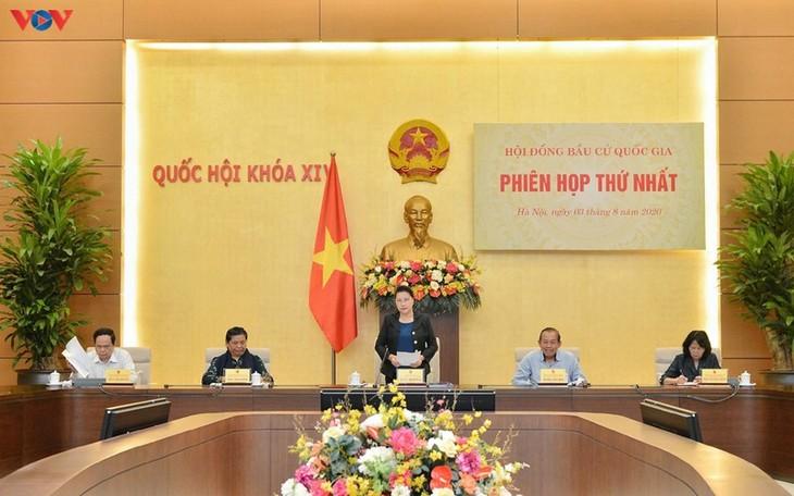 Первое заседание Национального избирательного совета - ảnh 1
