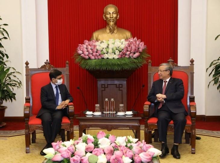 Вьетнам и Индия активизируют отношения всеобъемлющего стратегического партнерства - ảnh 1