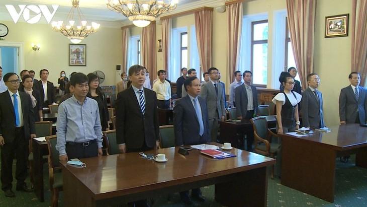 В России отмечается 75-я годовщина со дня основания внешнеполитической отрасли Вьетнама - ảnh 1