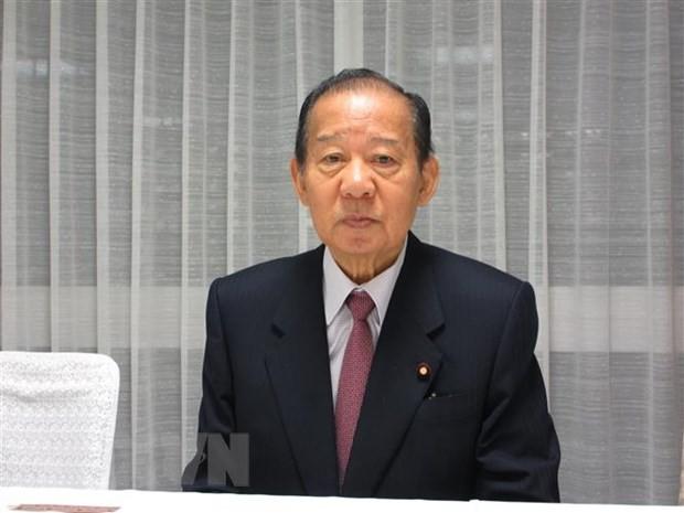 Тосихиро Никая переизбран генеральным секретарем правящей в Японии ЛДП   - ảnh 1