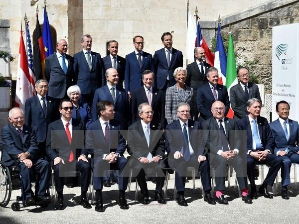 Pimpinan keuangan dari Kelompok G7 mengeluarkan pernyatan bersama - ảnh 1