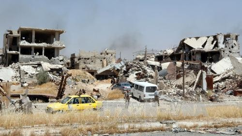 Suriah menyerukan kepada PBB supaya membubarkan pasukan koalisi pimpinan AS - ảnh 1