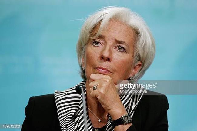 """Direktur Jenderal IMF memperingatkan """"masa depan dunia suram"""" - ảnh 1"""