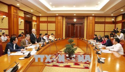 Sidang Badan Sekretariat KS PKV dihadiri oleh Sekjen KS PKV, Nguyen Phu Trong - ảnh 1