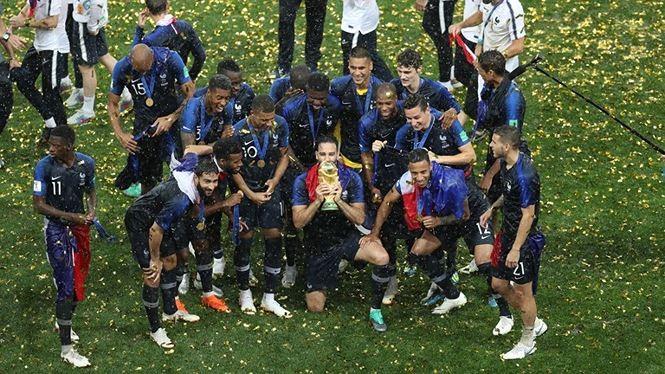 Menundukkan Kroasia, Perancis menjuarai  Piala Dunia  2018 - ảnh 1