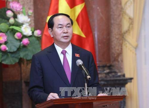 Presiden Vietnam, Tran Dai Quang mengirimkan surat ucapan selamat sehubungan dengan tahun ajar baru - ảnh 1