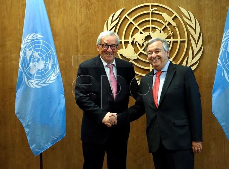 UN, AU dan PBB berkomitmen mendorong multilateralisme - ảnh 1