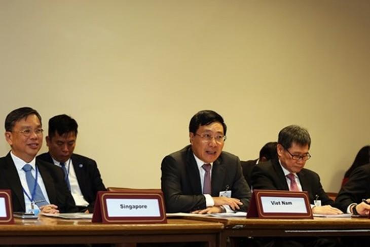 Konferensi Menlu ASEAN-Dewan Kerjasama Teluk - ảnh 1