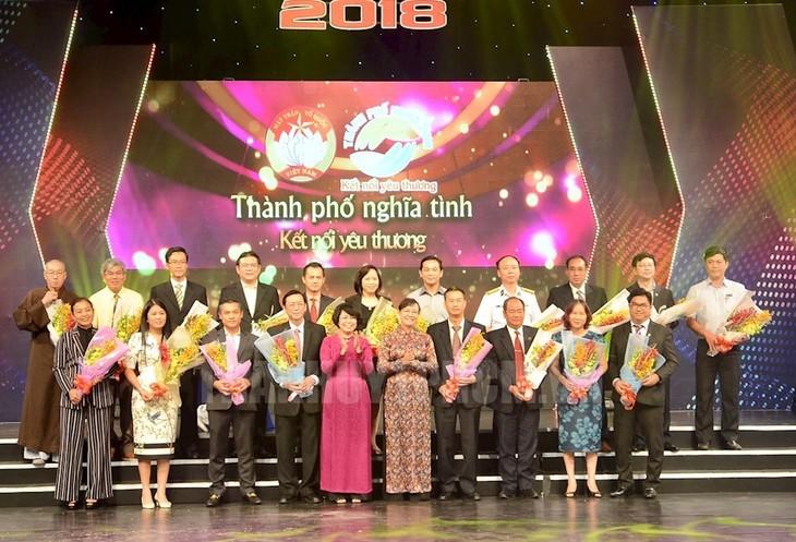 "Kota Ho Chi Minh: Kira-kira 40 miliar VND untuk Dana ""Demi Kaum Miskin"" - ảnh 1"