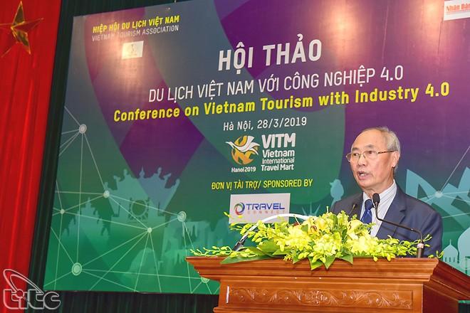 Mengembangkan pariwisata pintar merupakan arah yang sesuai dari cabang pariwisata Vietnam - ảnh 1
