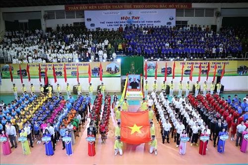 Lomba Olahraga nasional ke-11 etnis-etnis minoritas, kawasan II tahun 2019 - ảnh 1