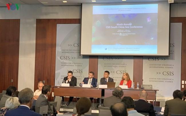 Para sarjana internasional memprotes pelanggaran yang dilakukan Tiongkok terhadap zona ekonomi eksklusif dan landas kontinen Vietnam - ảnh 1