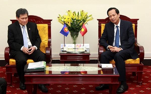 Vietnam aktif menyiapkan isi untuk mendorong kerjasama sosial-budaya dalam ASEAN - ảnh 1