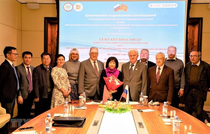 Memperhebat perkembangan kerjasama Vietnam – Rusia dan transfer teknologi - ảnh 1