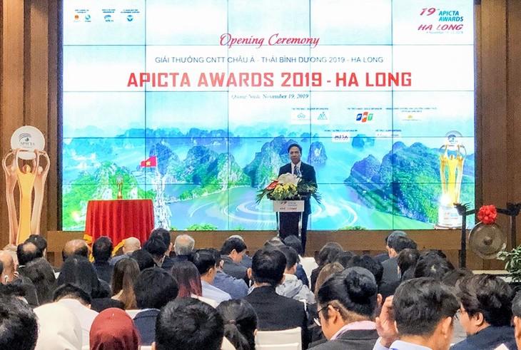 Pembukaan Penghargaan Teknologi Informasi Asia-Pasifik 2019 - ảnh 1