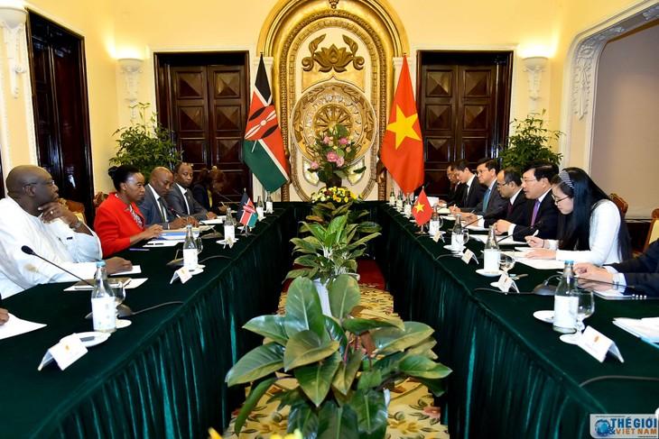 Membawa hubungan kerjasama Vietnam-Kenya menjadi intensif  dan efektif - ảnh 1