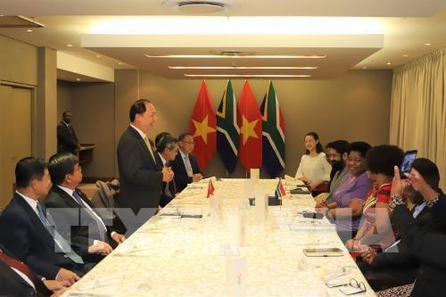 Afrika Selatan menganggap Vietnam sebagai salah satu di antara mitra-mitra papan atas di Asia Tenggara - ảnh 1