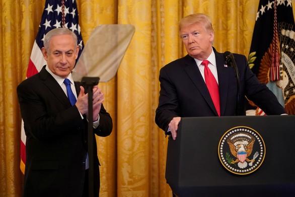 Presiden AS mengumumkan Rencana Perdamaian Timur Tengah - ảnh 1