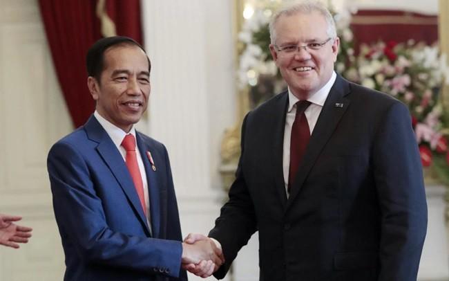 Australia dan Indonesia memprotes tindakan militerisasi di Laut Timur - ảnh 1