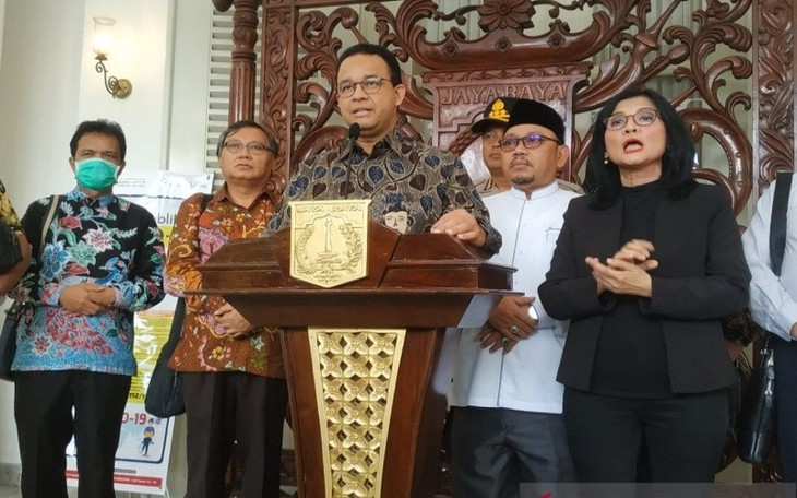 Jakarta tetapkan tanggap darurat bencana Covid-19 - ảnh 1