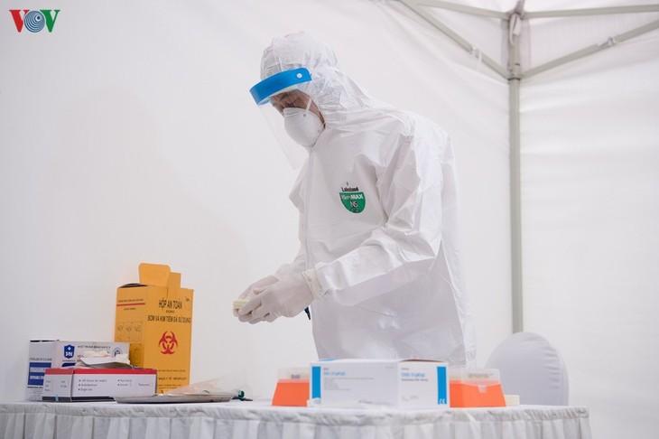 Ada lagi 6 kasus yang tercatat terjangkit virus SARS-CoV-2 di Vietnam - ảnh 1