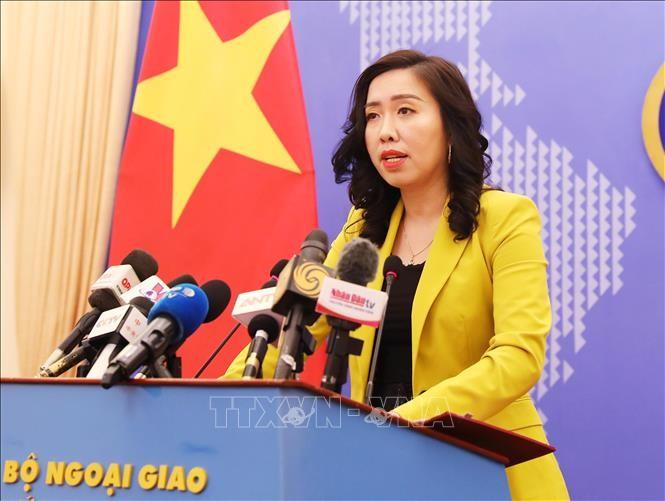 Menyampaikan Nota untuk memprotes dan  dan meminta kepada Tiongkok supaya memberikan santunan yang layak  terhadap kerugian-kerugian yang diderita para nelayan Vietnam - ảnh 1