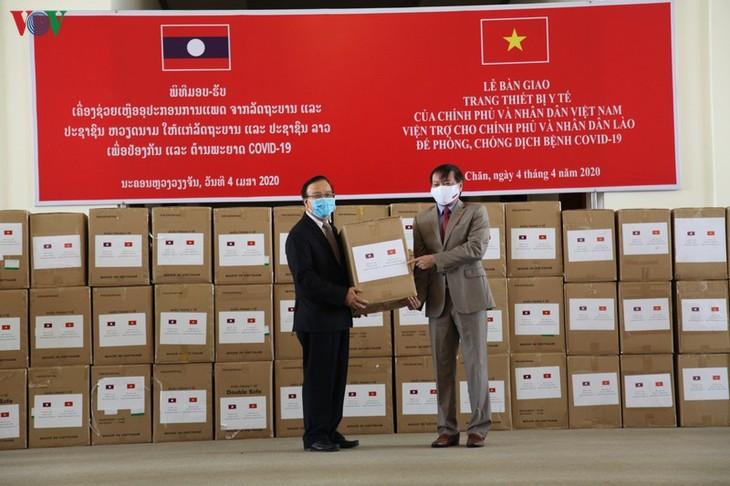 Laos mengapresiasi  bantuan Vietnam - ảnh 1
