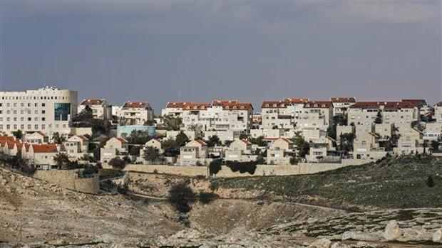 Palestina memprotes rencana Israel dalam menggabungkan kawasan-kawasan di Tepi Barat - ảnh 1