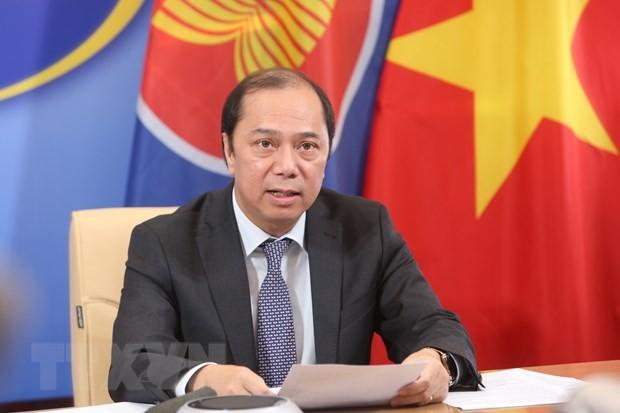 ASEAN sepakat membentuk Dana melawan pandemi Covid-19 - ảnh 1