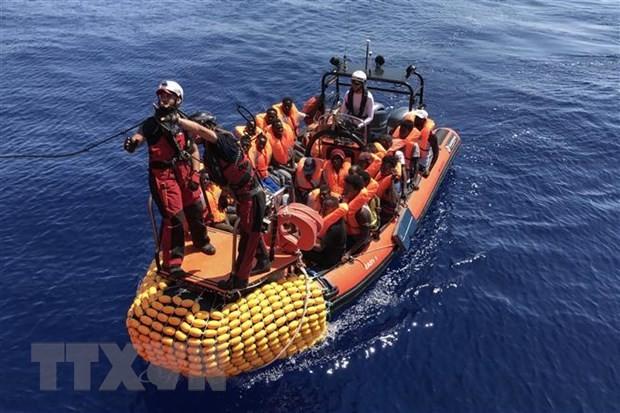 Puluhan migran kehilangan di Laut Tengah - ảnh 1