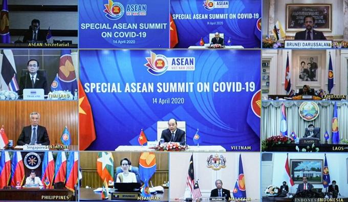 Pernyataan KTT Khusus  ASEAN tentang usaha menghadapi wabah Covid-19 - ảnh 1