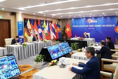 ASEAN 2020: Pimpinan berbagai negara dan organisasi internasional menilai tinggi peranan Vietnam dalam mengadakan KTT Khusus ASEAN dan  KTT Khusus ASEAN+3 tentang Covid-19 - ảnh 1