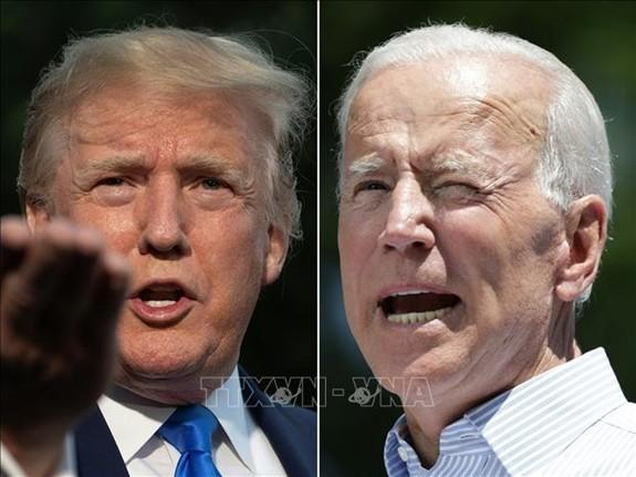 Pemilihan AS 2020: Hasil jajak pendapat antara Presiden Donald Trump dan capres Joe Biden - ảnh 1