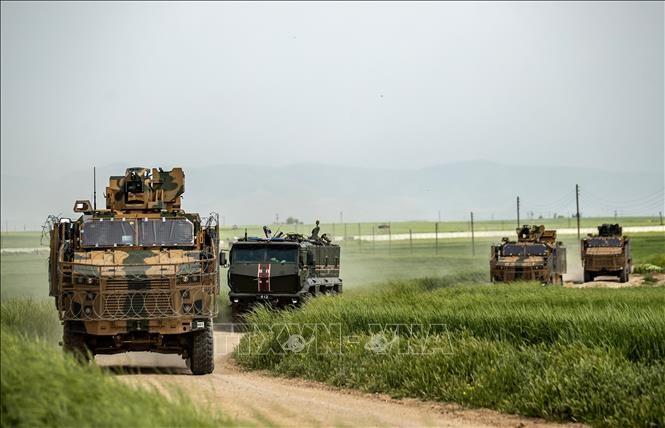 Rusia dan Turki melanjutkan patroli-patroli bersama di Suriah - ảnh 1