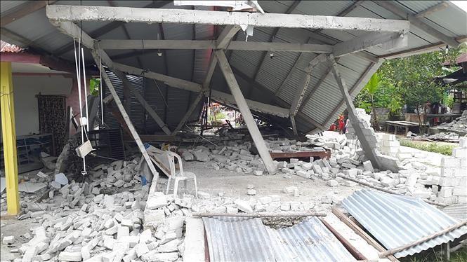 Gempa bumi mengguncangkan kawasan Indonesia Timur - ảnh 1