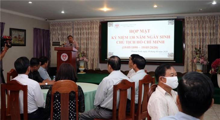 Banyak kegiatan memperingati HUT ke-130 Hari Lahirnya Presiden Ho Chi Minh di luar negeri - ảnh 1