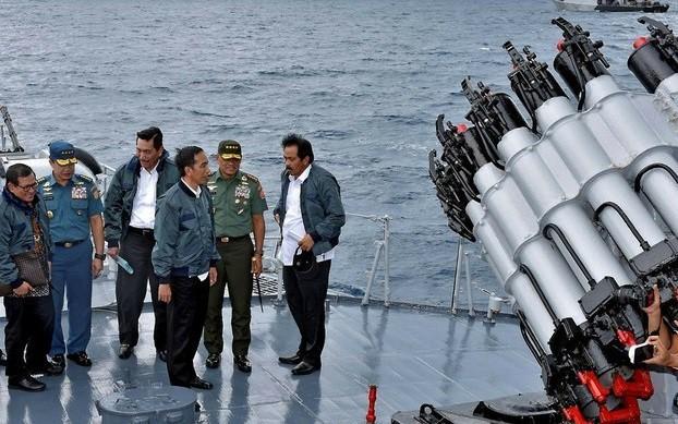 """Indonesia menegaskan kembali bahwa """"Sembilan garis putus-putus"""" Tiongkok melanggar UNCLOS 1982 - ảnh 1"""