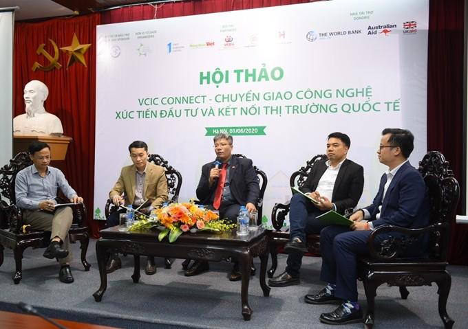 Mengkonektivitaskan badan usaha Vietnam dengan rantai nilai global melalui konektivitas dan transfer teknologi - ảnh 1